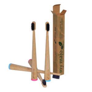 Standing bamboo Charcoal Toothbrush